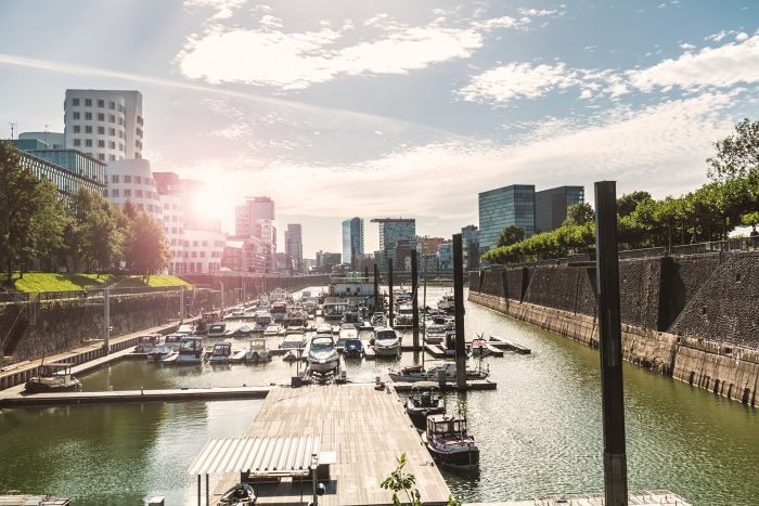 möbliertes Business-Apartment, möblierte Wohnung, Düsseldorf Medienhafen, mit Rundum-Service